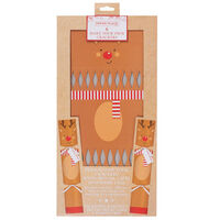 Make Your Own Christmas Reindeer Crackers:  Pack of 6