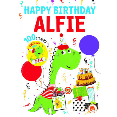 Happy Birthday Alfie image number 1