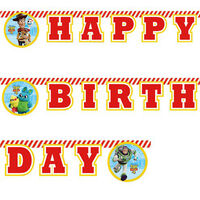 Toy Story Happy Birthday Letter Banner