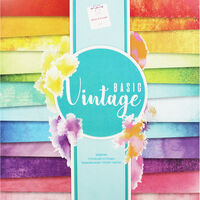 Basic Vintage Design Pad - 12x12 Inches