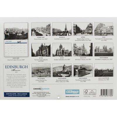 Edinburgh Memories A4 Calendar 2020 image number 3