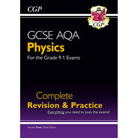 CGP GCSE Physics Grade 9-1: Complete Revision & Practice