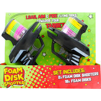 Foam Disk Shooter - Dual Pack