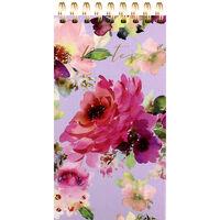 Lilac Bloom Wiro List Pad