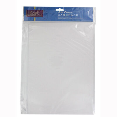 A4 White Card - 15 Pack image number 1