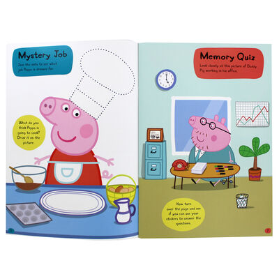 Peppa Pig: When I Grow Up Sticker Activity Book image number 2