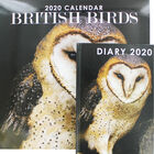 British Birds 2020 Calendar and Diary Set image number 1