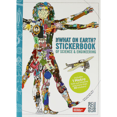 The What On Earth? Stickerbook of Science & Engineering image number 1
