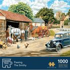Passing The Smithy 1000 Piece Jigsaw Puzzle image number 1