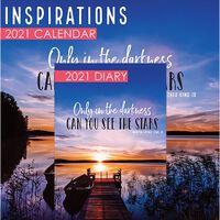 Inspirations 2021 Calendar and Diary Set