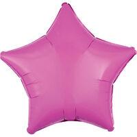 18 Inch Pink Star Helium Balloon