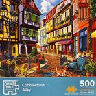 Cobblestone Alley 500 Piece Jigsaw Puzzle image number 1
