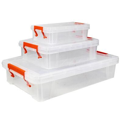 Shallow Storage Box - Set of 3 image number 1