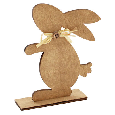 Decorative Wooden Easter Bunny image number 1