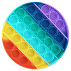 Pop 'N' Flip Bubble Popping Fidget Game: Rainbow Circle image number 4