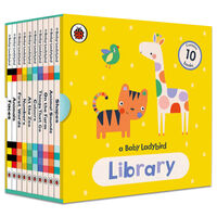 A Baby Ladybird Library: 10 Book Collection