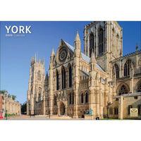 York 2020 A4 Wall Calendar