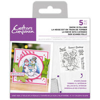 Acrylic Stamp Set: Snow is Falling