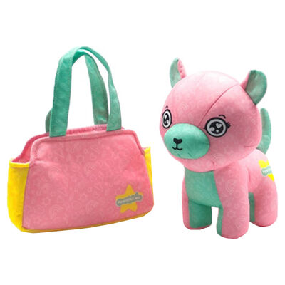 Scribble Me Friends Soft Toy & Bag - Assorted image number 1