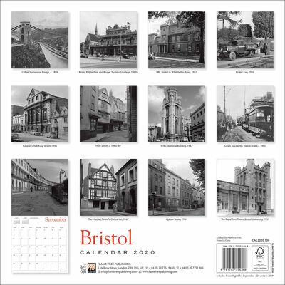 Bristol Heritage 2020 Wall Calendar image number 3