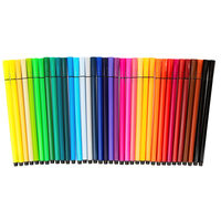 Coloured Felt Pens - Pack Of 36