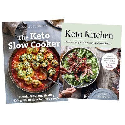 Keto Diet Cooking 2 Book Bundle image number 1