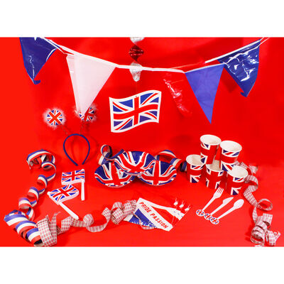 Union Jack Paper Cups - Pack of 8 image number 3