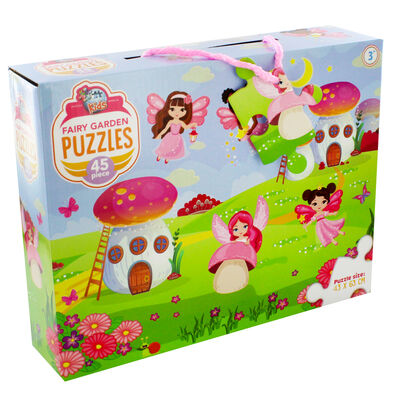 Fairy Garden 45 Piece Jigsaw Puzzle image number 1