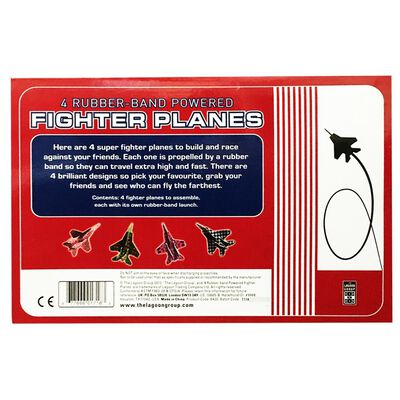 Rubber Band Powered Fighter Plane image number 3