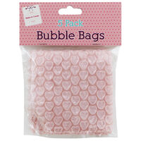 Pink Bubble Bags: Pack of 5