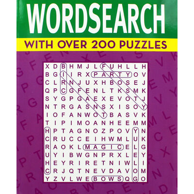 Classic Wordsearch: Purple Book image number 1