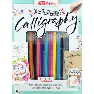 Brush-Marker Calligraphy image number 1