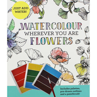 Watercolour Wherever You Are: Flowers image number 1