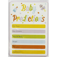 Baby Prediction Cards - Pack Of 12
