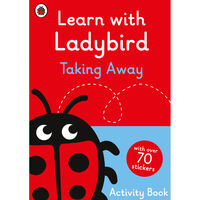 Learn With Ladybird: Taking Away Activity Book