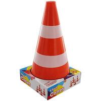 Plastic Road Cones: Pack Of 4