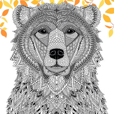 The Menagerie: Animal Portraits to Colour image number 4