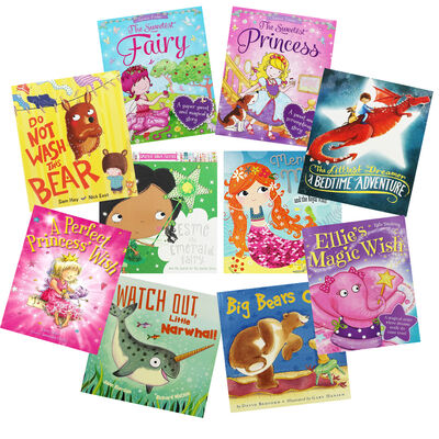 Magical Wishes: 10 Kids Picture Books Bundle image number 1