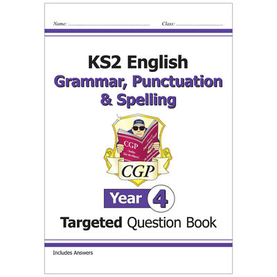 KS2 English Targeted Question Book Grammar, Punctuation & Spelling: Year 4 image number 1