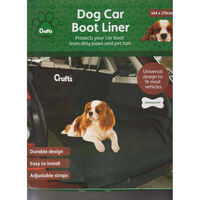 Crufts Waterproof Car Boot Liner