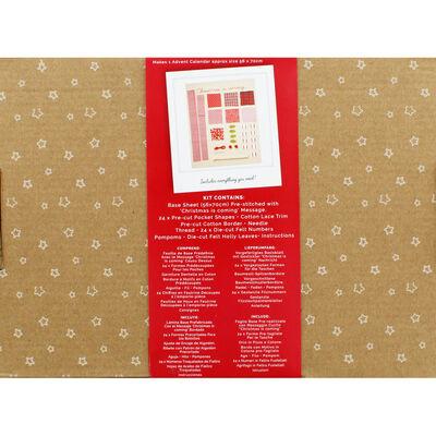Hanging Advent Calendar Sewing Kit image number 4