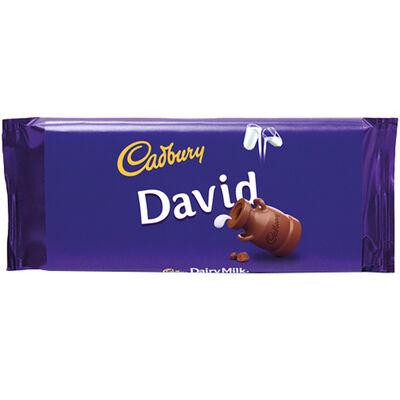 Cadbury Dairy Milk Chocolate Bar 110g - David image number 1