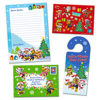Christmas Letter to Santa Pack: Paw Patrol