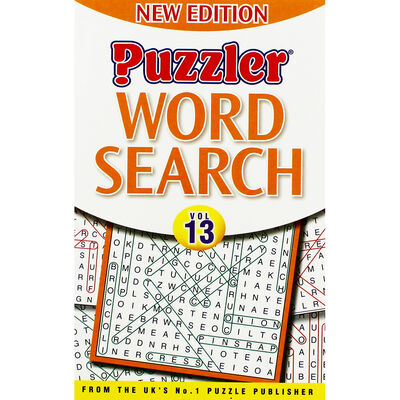 Puzzler Word Search: Volume 13 image number 1