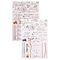 Wedding Day Glass Stickers