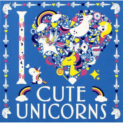 I Heart Cute Unicorns image number 1
