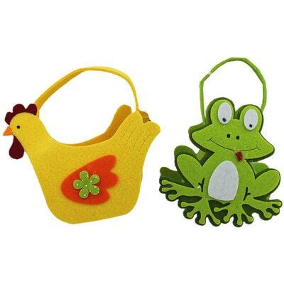 Cute Felt Easter Animal Bag - Assorted image number 3