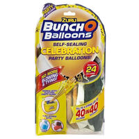 Gold Bunch O Balloons: Pack of 24