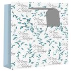 Wide Gusset Holly Script Gift Bag image number 1