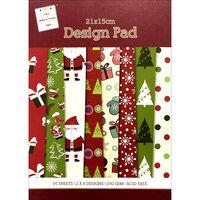 Christmas Tree Paper Pad - 21 x 15 cm